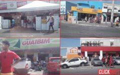 Acorda Semop e Sucom! Lojas de móveis ocupam calçadas e moradores disputam espaço com carros em Paripe