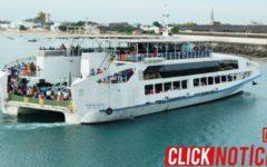 Ferry-Boat registra fluxo intenso de pedestres e veículos no terminal São Joaquim na manhã desta sexta-feira (24)