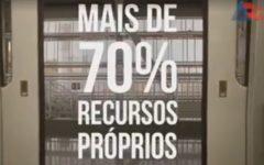 """Governo do Estado exalta investimentos em obra o metrô: """"70% de recursos próprios"""""""