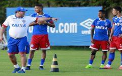 Confira a lista de relacionados do Bahia para o jogo contra o Fortaleza nesta quarta (22)